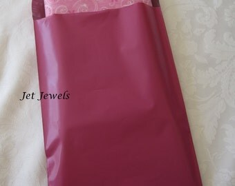 50 Shipping Envelopes, Pink Mailers, Pink Envelopes, Plastic Mail Bags, Shipping Bags, Poly Mailers, Shipping Supply 7x10
