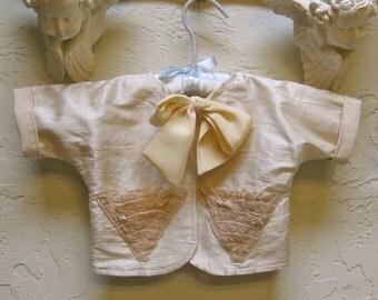 Infant Newborn Silk Baby Jacket Coat
