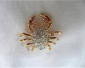 "Vintage ""Crab"" Tie Tac"
