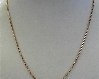 Vintage Krementz Gold Chain
