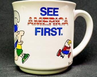 Vintage America mug - by Boynton
