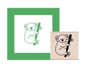Koala Rubber Stamp