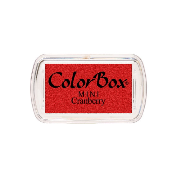 ColorBox Mini Sized Ink Pad Cranberry Red