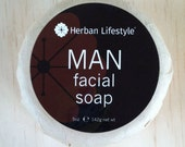 Herban Lifestyle Man Facial Soap Made with Organic Oils