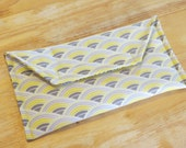 Eyeglass Holder Large Size in Gray and Yellow