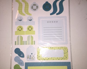 SEI Scrapbook Embellishment -- Scrapbook Supply -- Baby Boy Die Cuts