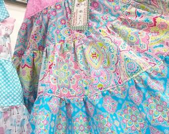 Girls Spring Dress - Sundress - Maxi Dress - Groovy Gurlz