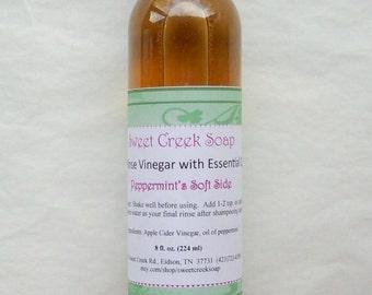 Vinegar Hair Rinse, Peppermint's Soft Side