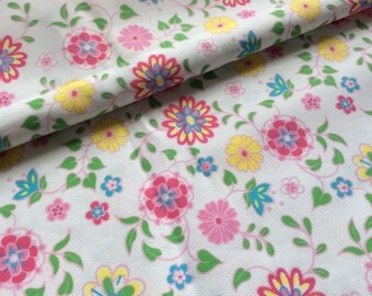 Floral pique from Fabric Finders :  1/2 yard