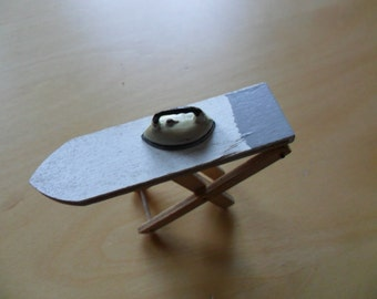 Doll House Iron and Ironing Board