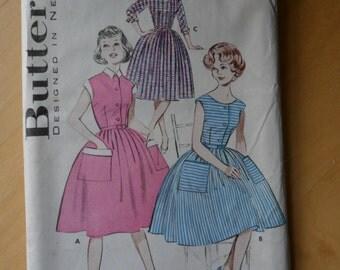 Vintage Dress Pattern - Butterick 605