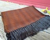 Cirrus October Copper Handwoven Scarf