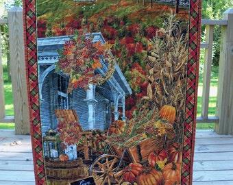 Fall Thanksgiving Wall Hanging Door Banner Autumn Harvest Wall Decor