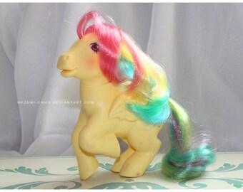 Vintage G1 MLP My Little Pony Rainbow Pony Sky Dancer