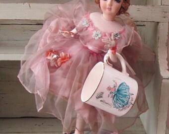 Dance Ballerina Dance - Blackpool Childrens Cinderella Pantomime Golden Jubilee Mug - 1961 - Ballet Dancer