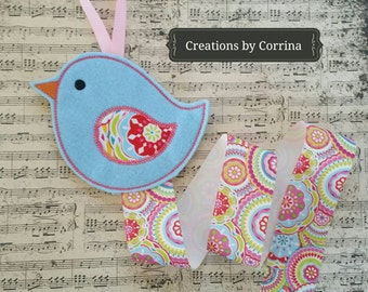 Little Birdie - Little Birdie Bow Holder - Hair Clip holder - Hair bow holder - Clippie Holder - Hair Clip Holder  - Clip Keeper