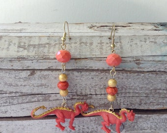 Fantasy Dragon Earrings