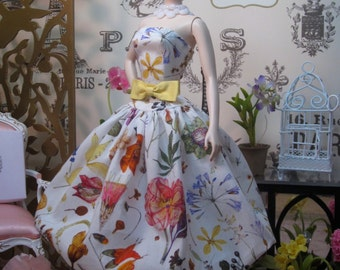"""Bubble Dress in Liberty of London """"Floral Eve"""""""