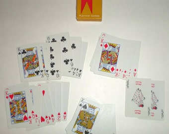Vintage Valet Playing Cards - Mechanical Servants Inc - Chicago Illinois - Vintage Playing Cards - Old Valet Cards - Made in USA