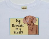 Vizsla Bodysuit/Baby Clothes/Baby Boys' Bodysuit/Baby Girls' Bodysuit/Baby Shower Gift/Toddler tee shirt