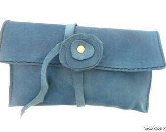 Bolsa en cuero. Trousse en cuir. Leather bag. tp3