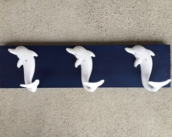 dophin towel rack beach towel hooks Beach house dreams pool outdoor shower beach home decor coastal living