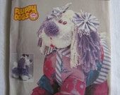 Simplicity 7824 Fluppy Dogs Sewing Pattern Cuddle Flup