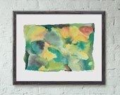 Seven Eleven Abstract Art Print by Erika Firm