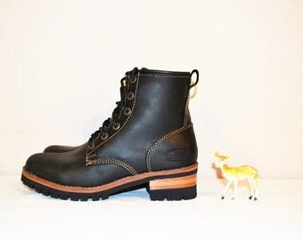 Vintage Chunky Black Boot