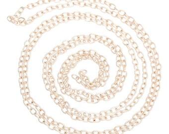 BULK - Soft Gold Cable Chain - 32 feet - #CH32551