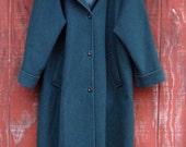 Nor'easter - vintage 1980s wool winter coat XL 2X XXL