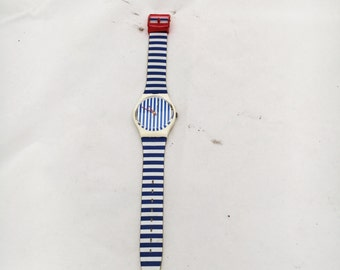 1987 Newport Two Swatch Watch