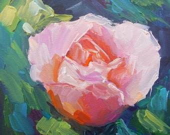 Floral Giclee Print Flower Giclee Print, Rose Giclee Print, free shipping, choose your size, ready to hang, No Frame Needed