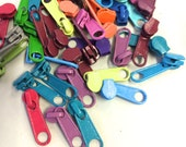 Long Pulls for 3mm Bag & Purse Craft Zippers, Head to Head