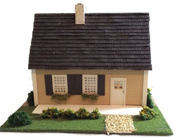 NEW Complete Kit -  Quarter Inch Scale Half Cape Beach Cottage