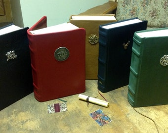 Made to Order Professional Leather Bound A Song of Ice and Fire Books 1-5 Full Set Hardcover