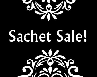 Sachet Sale, old label clearance, offer good on old label only