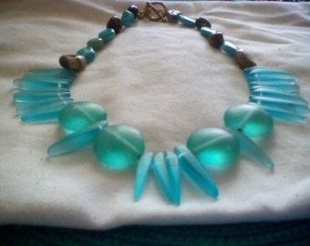 Blue Sea Glass Beauty.