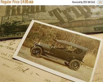 20PercentOff Road Trip One Dozen Antique Automobile Flash Cards Journey 50 YR Old Cards