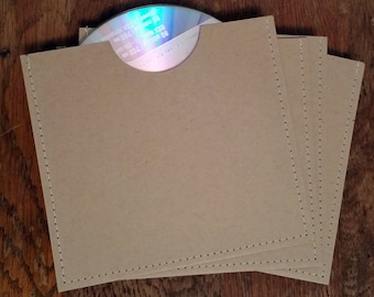 Blank cd sleeve wedding favor ready to ship {pack of 75}