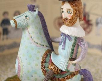 Romatic Rider by Elya Yalonetski