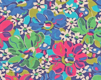 Liberty Fabric Mushaboom C Tana Lawn One Yard Bright Large Floral