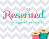 Reserved for Linda West, Fits 18 Inch American Girl Dolls