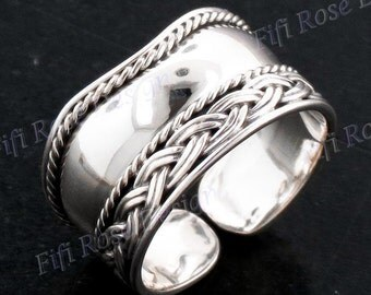 Bali Handmade 925 Sterling Silver Toe Ring
