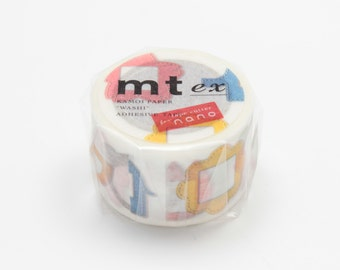 mt ex masking tape - single -  name tag