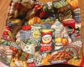 Fabric Microwave Bowl Holder 24