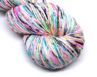 "Hardcore Sock Yarn - ""Bitchin!"" - Handpainted Superwash Merino - 463 Yards"