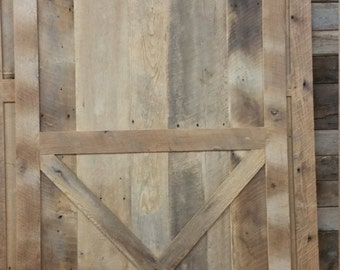 Sliding X Pannel Barn Door with FREE SHIPPING SBDLX700F