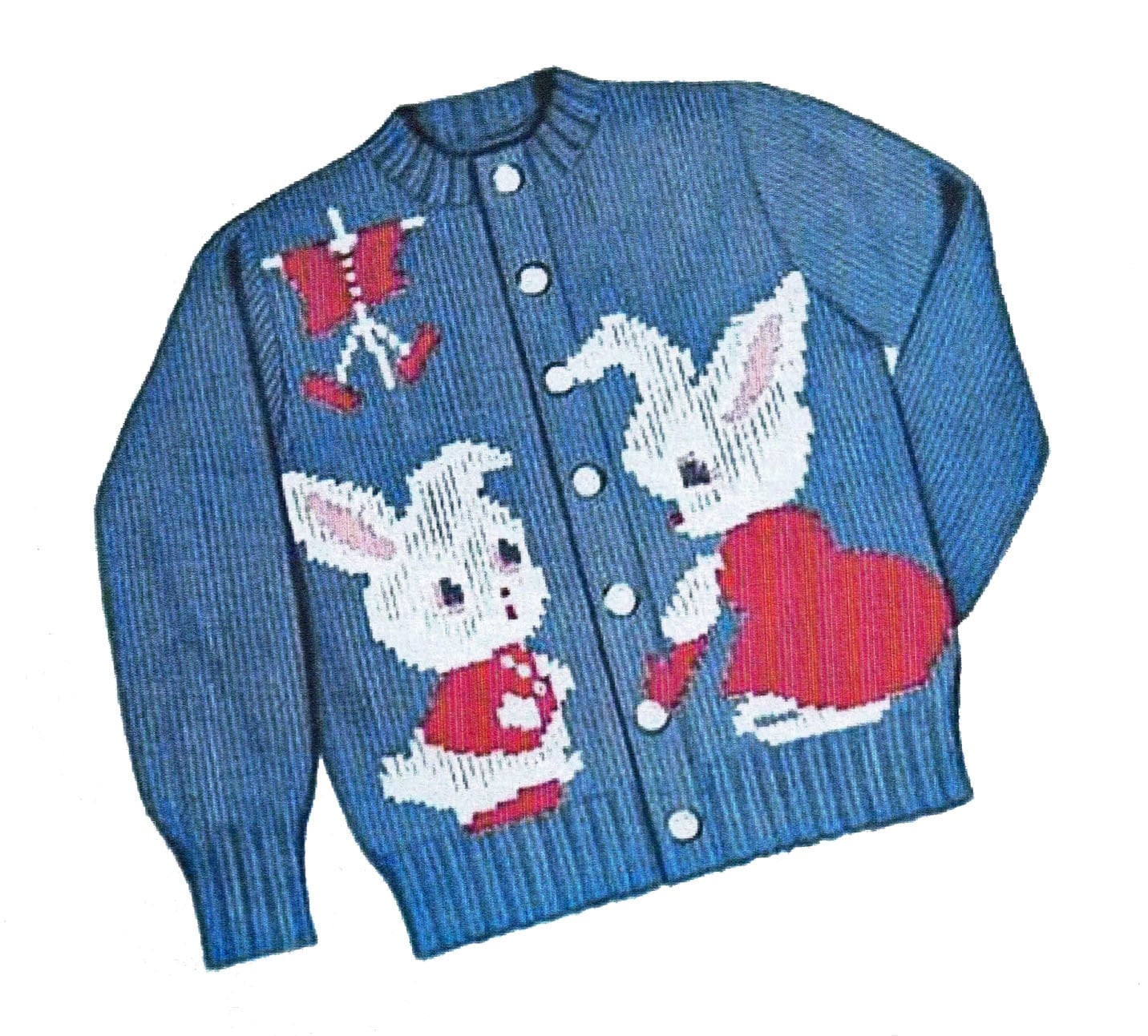 Knitting Pattern For Peter Rabbit Jumper : Peter Rabbit Sweater PATTERN Knit O Graf 203 cardigan pullover