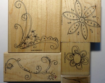 Stampin' Up! Rubber Stamp Doodle This